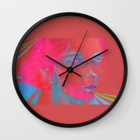 If Your Skull Was Fushia Wall Clock