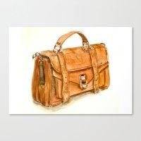 Brown Bag Canvas Print