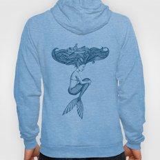 Mermaid: hair ocean Hoody