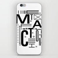 METAL FICTION iPhone & iPod Skin