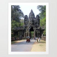 Angkor What? Art Print