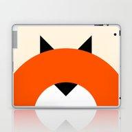 A Most Minimalist Fox Laptop & iPad Skin