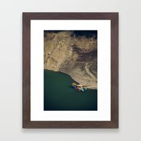 Colourful Boats Framed Art Print