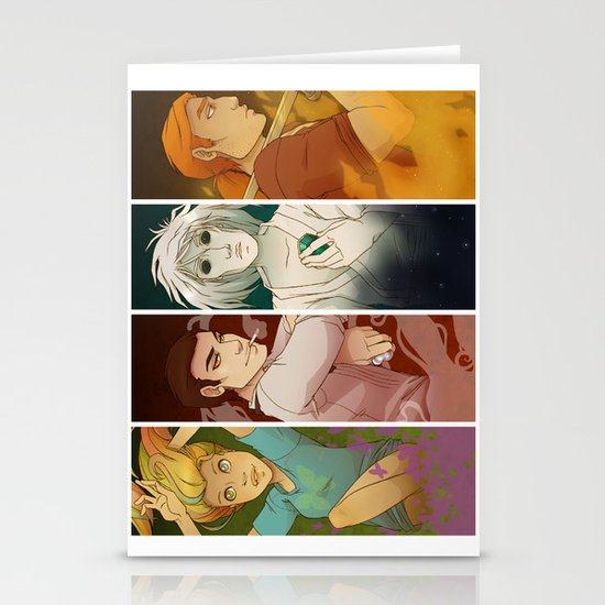 Sandman Quartet Stationery Card