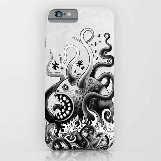 Dark Octoworm iPhone & iPod Case