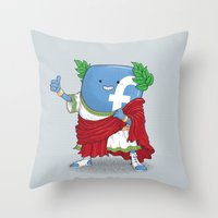 The Caesar And 42000 Mor… Throw Pillow