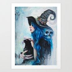 Blue Valentine Art Print