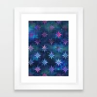 Bohemian Night Skye Framed Art Print