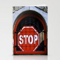 To a Halt! Stationery Cards