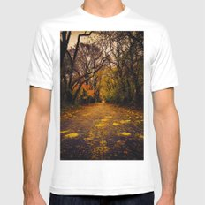 Finding the Beauty in Hurricane Sandy. White SMALL Mens Fitted Tee