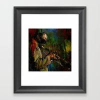 Miles D. Framed Art Print