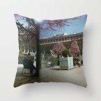 Jardin Du Palais Royal, … Throw Pillow