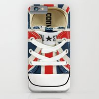 esrevno)-I  #12 Union Jack London iPhone 6 Slim Case
