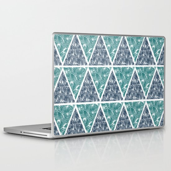 Geometric Paradise Laptop & iPad Skin