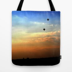 Out of the smog Tote Bag