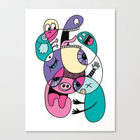 Piggly Wiggly Canvas Print