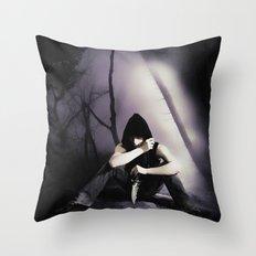 In Da Hood Throw Pillow