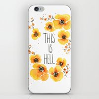 This Is Hell iPhone & iPod Skin