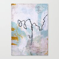 lines & texture 2 Canvas Print