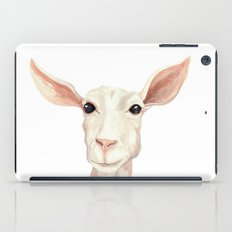Watercolor Billy Goat iPad Case