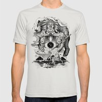 Dream Pipe Mens Fitted Tee Silver SMALL