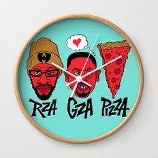 RZA, GZA, PIZZA Wall Clock