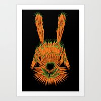 Year of The Rabbit Art Print