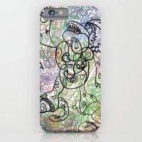 Anymanimals+Whatlifethrowsatyou    Nonrandom-art1 iPhone 6 Slim Case