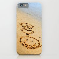 Peace Love and Happiness iPhone 6 Slim Case