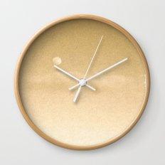 Gold 4 Wall Clock