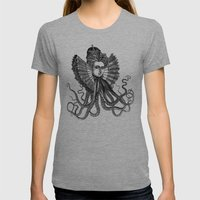 Killa' Queen Womens Fitted Tee Athletic Grey SMALL