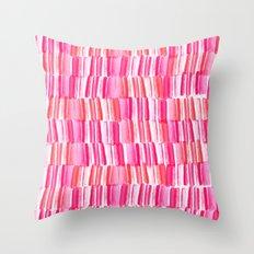 Hello watercolor Throw Pillow