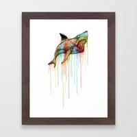 NEXT LEGEND Framed Art Print