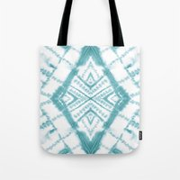Dye Diamond Sea Salt Tote Bag