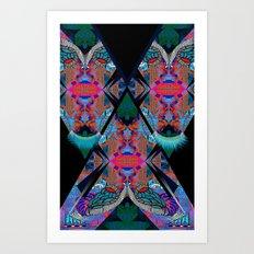Faux Art Print