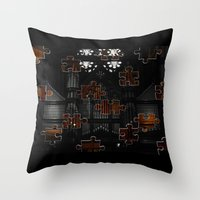 Distracting A Ghost: 1st… Throw Pillow