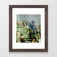 Ignition Sequence Framed Art Print