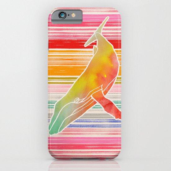 Whale  by Jacqueline Maldonado & Garima Dhawan iPhone & iPod Case