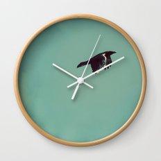 As the crow flies Wall Clock