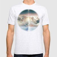 DOMBAY Mens Fitted Tee Ash Grey SMALL