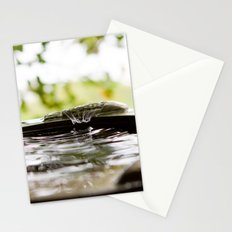 Rain Splash Stationery Cards