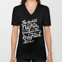 Darkest Nights Unisex V-Neck