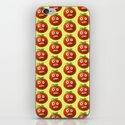 Funny Cartoon Tomato Pattern iPhone & iPod Skin