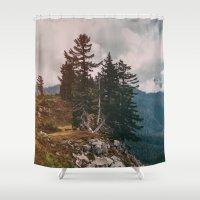 Northwest Forest Shower Curtain