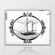 Sailing Ship Oval Laptop & iPad Skin