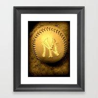 Yankees2 Framed Art Print