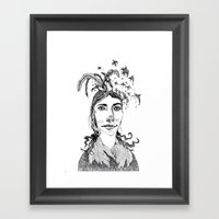 Pj Harvey Framed Art Print