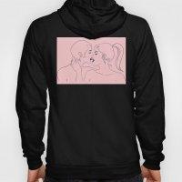 Kiss in Pink Hoody