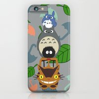 iPhone & iPod Case featuring Troll Totem by Canis Picta