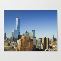 World Trade Center Freedom Tower NYC Canvas Print